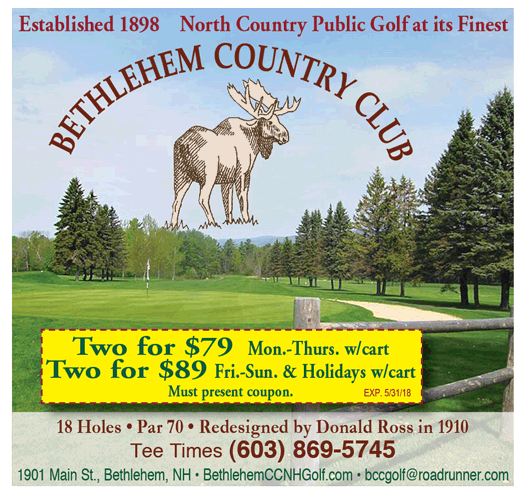 2015 Bethlehem Country Club