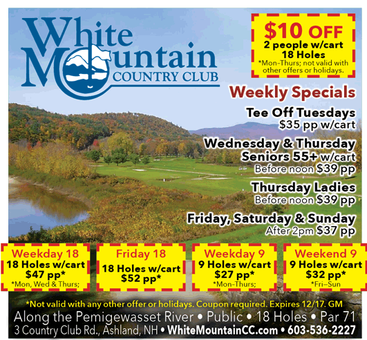 2015 White Mountain Golf