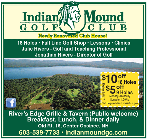 2015 Indian Mound Golf